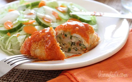 skinnytastebuffalo-stuffed-chicken-breast